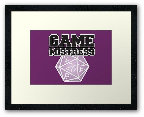Game Mistress by Tee NERD