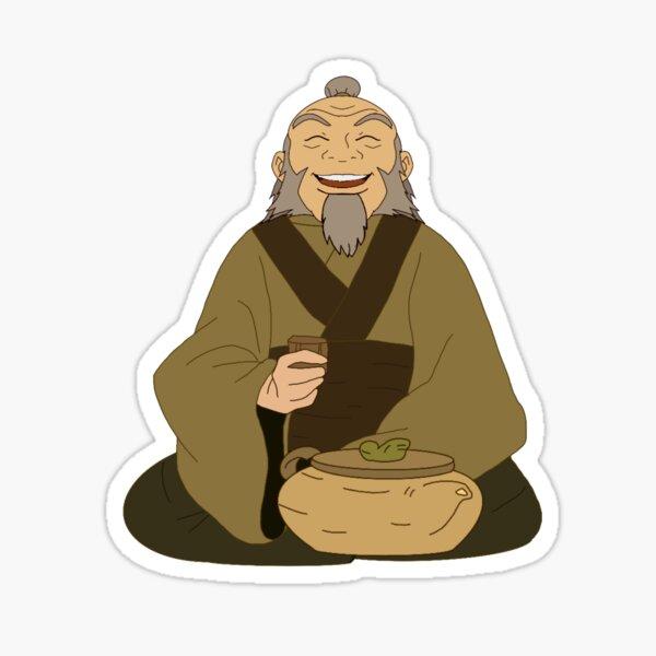Iroh Avatar Sticker Sticker