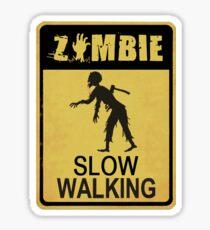Allert Zombie Sticker