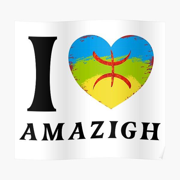 J'aime l'amazigh Poster