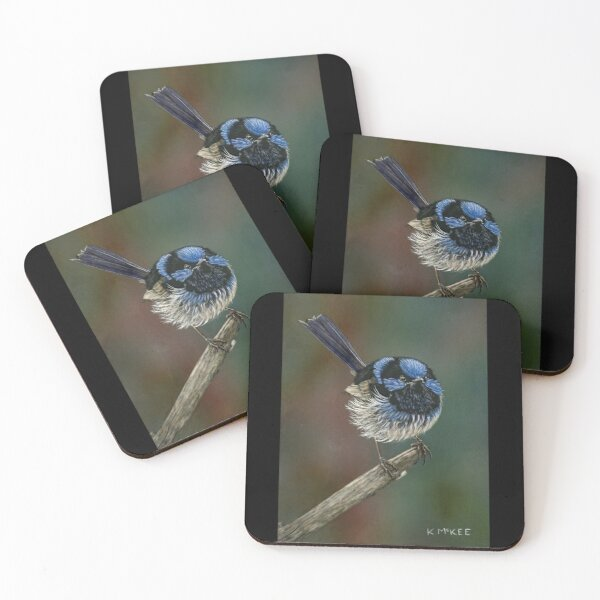 Pretty In Blue Coasters (Set of 4)