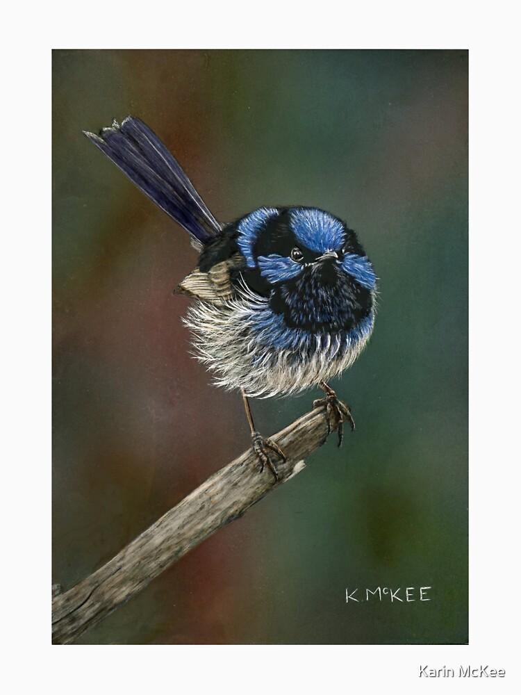 Pretty In Blue by kjmckee