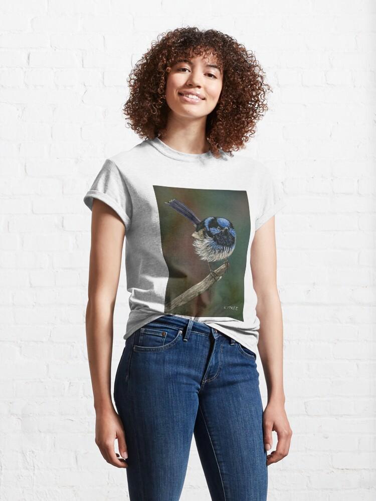 Alternate view of Pretty In Blue Classic T-Shirt