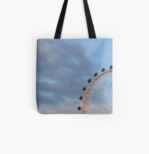 London Eye All Over Print Tote Bag