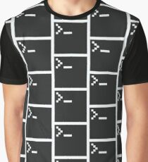 Pixel Shell Graphic T-Shirt