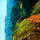 Waimea Canyon 5 Abstract Impressionism by pjwuebker