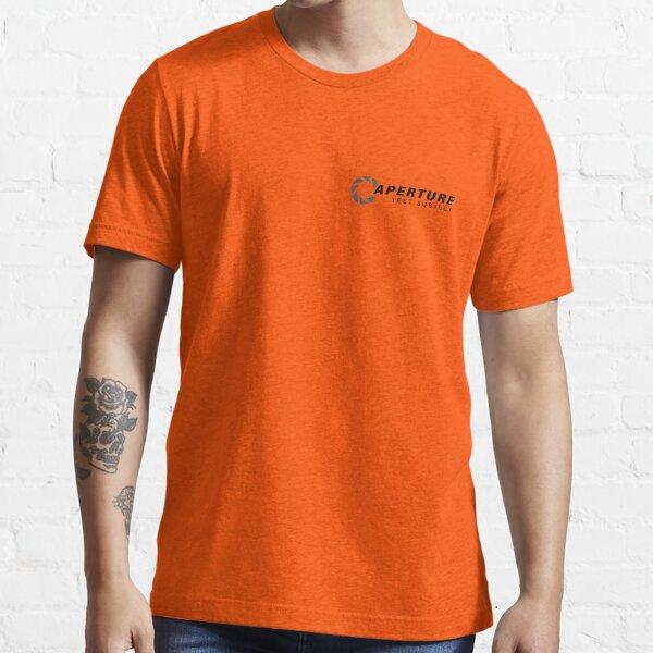 Aperture Laboratories Test Subject Essential T-Shirt