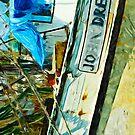 The Shrimp Boat John Drew Abstract Impressionism by pjwuebker