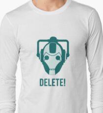 Cyberman 'Delete!' Long Sleeve T-Shirt