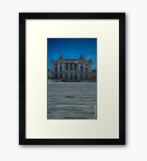 Zurich Opera House Framed Print