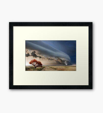Atmospheric Framed Print