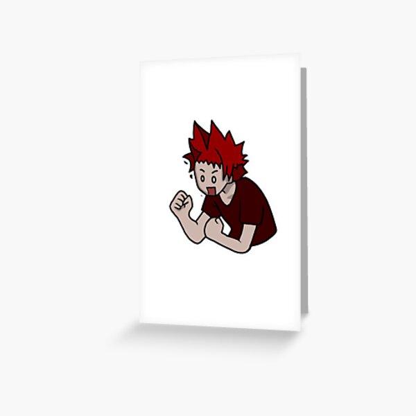 Low quality Kirishima  Greeting Card