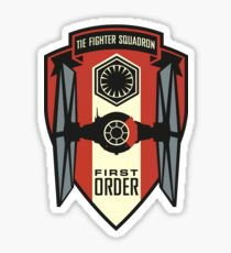 First Order Fighter Squadron Emblem Sticker
