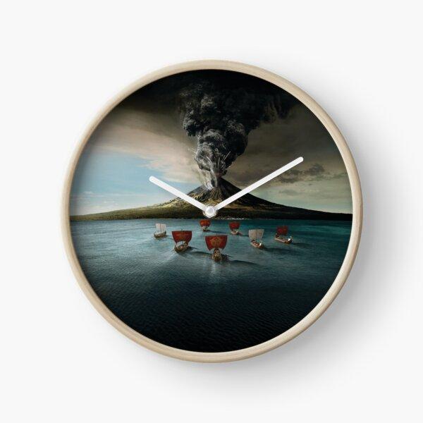 Escape From Pompeii Clock