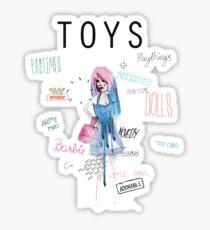 Doll! Sticker