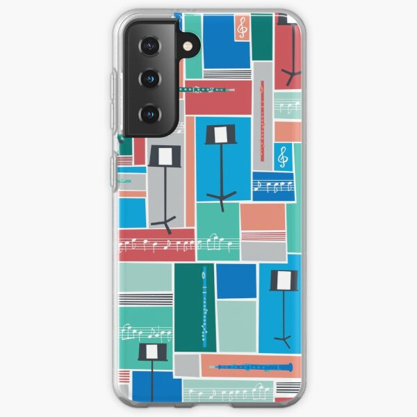 Flute and Oboe Samsung Galaxy Soft Case