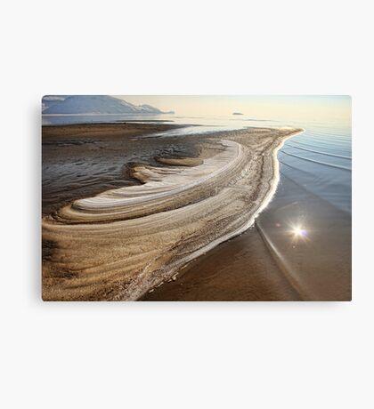 Salt And Sand Metal Print