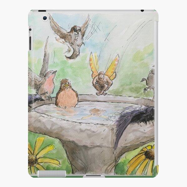Fairy Cannonballing the Birdbath iPad Snap Case