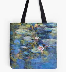 Monet's Pond, Giverny Tote Bag