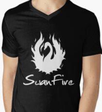 OUAT - SwanFire (white) Mens V-Neck T-Shirt