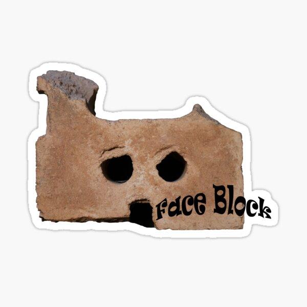 Face Block Sticker
