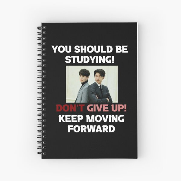 Lee Dong Wook + Gong Yoo [You should be studying] Spiral Notebook