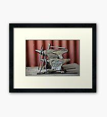 Anvils Framed Print