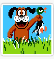 """""""Retro Retriever"""" Duck Hunt Sticker"""