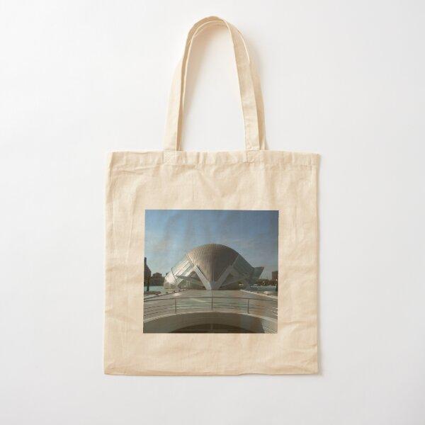 Valencia Hemisfèric 3D IMAX Print Cotton Tote Bag