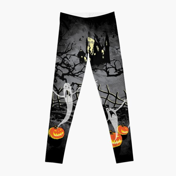 Haunted Halloween Leggings