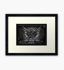©DA Wings IDA Monochromatic Framed Print
