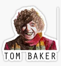 Tom Baker! Sticker