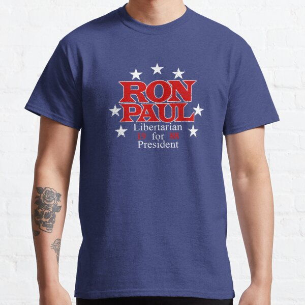 Ron Paul Libertarian for President 1988 Classic T-Shirt