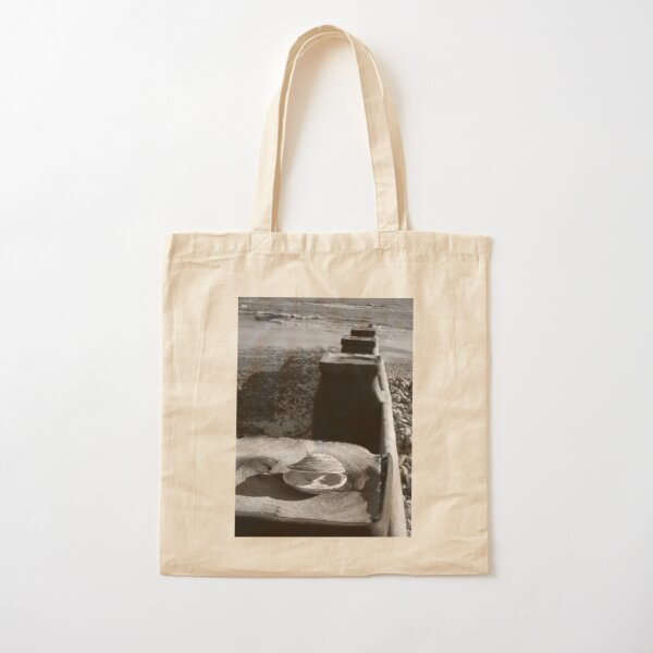 Bexhill, Empty Shell Cotton Tote Bag