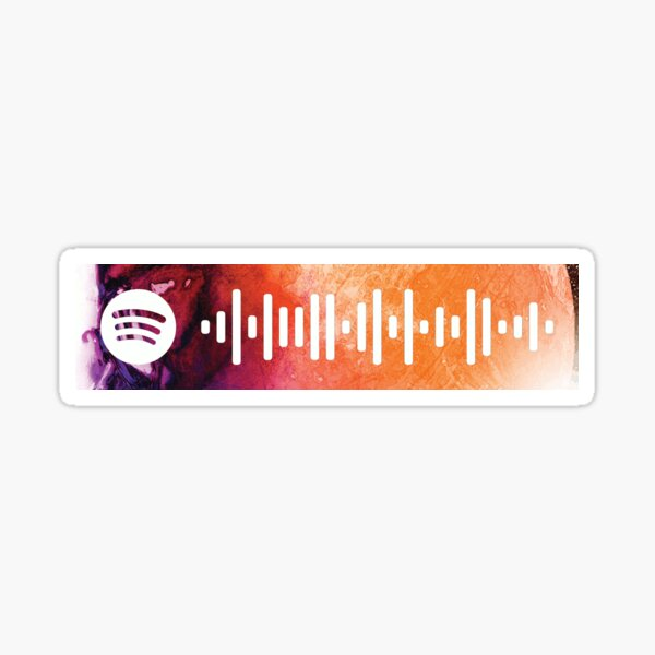 Pursuit of Happiness - Spotify Code Sticker