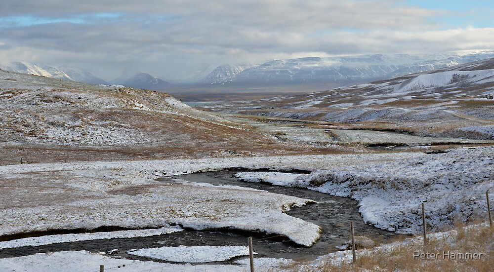 Alpine View, West Iceland by Peter Hammer