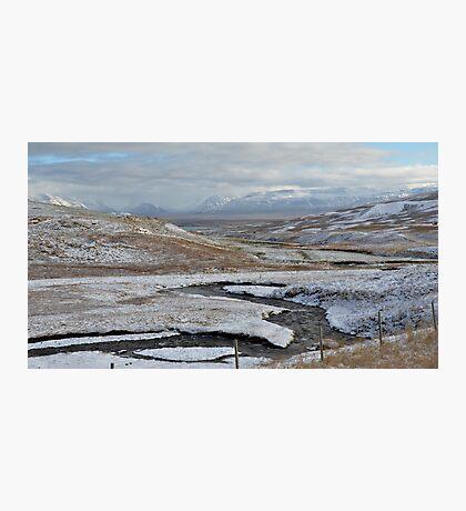 Alpine View, West Iceland Photographic Print