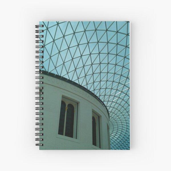 British Museum, Glass Roof Spiral Notebook