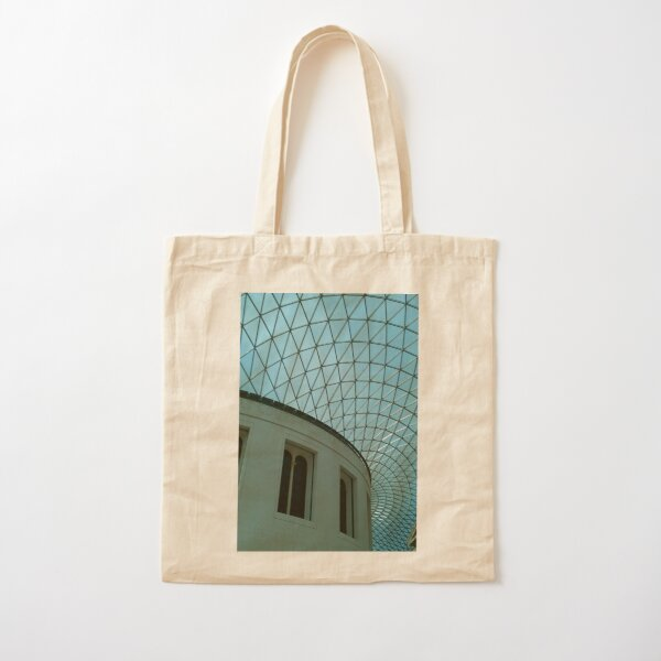 British Museum, Glass Roof Cotton Tote Bag