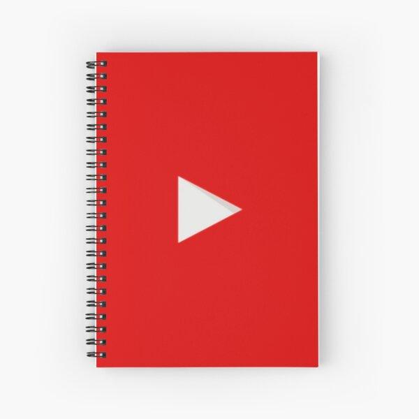 YOUTUBE LOGO Spiral Notebook