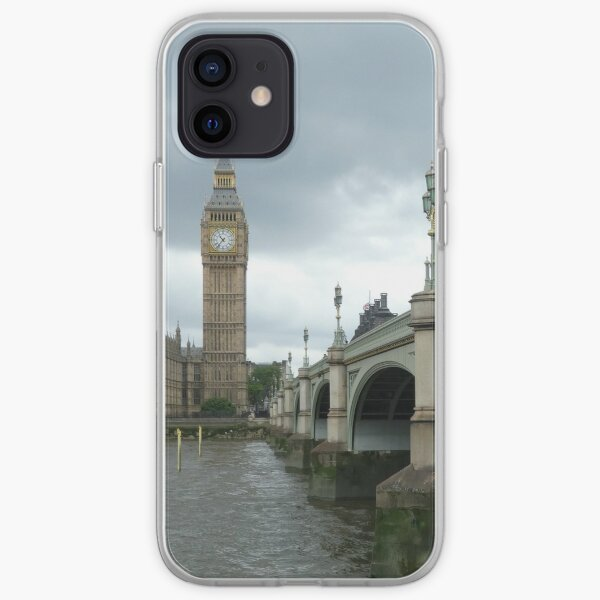 Big Ben across the Thames iPhone Soft Case