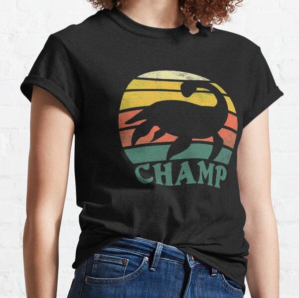 Vintage Retro Champ Lake Champlain Monster Graphic Classic T-Shirt