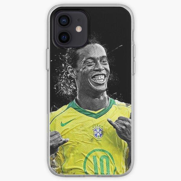 Fond d'écran Ronaldinho Illustration Coque souple iPhone
