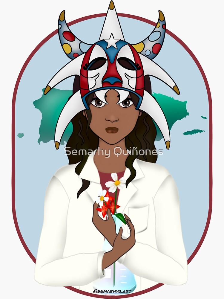 Puerto Rican Woman in STEAM by semarhy