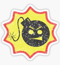 Serious Bomb Ruined Sticker