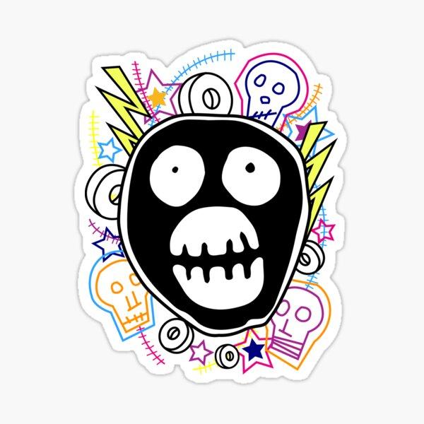 The Mighty Boosh logo Sticker