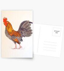 Cock-a-doodle Postcards