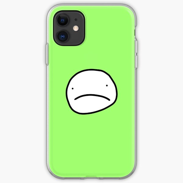 Sad Dream face iPhone Soft Case