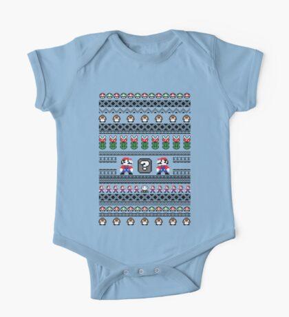 Super Mario Sweater Kids Clothes