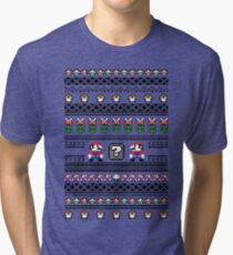 Super Mario Sweater Tri-blend T-Shirt